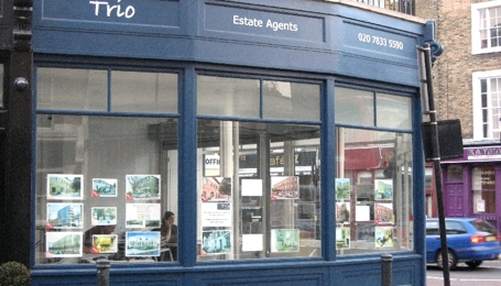 Trio Front Estate Agents, Kings Cross N1